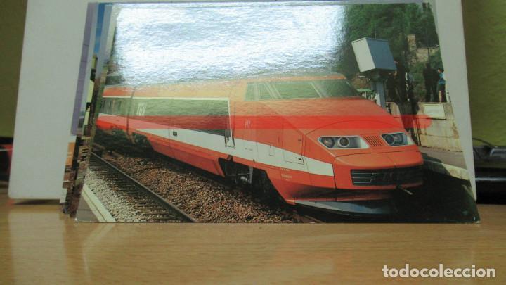 POSTAL FERROCARRIL FRANCIA TGV SURESNES (Postales - Postales Temáticas - Trenes y Tranvías)
