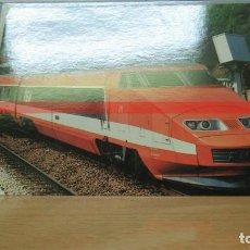 Postales: POSTAL FERROCARRIL FRANCIA TGV SURESNES. Lote 222093143