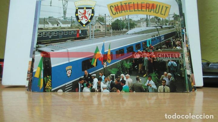 POSTAL FERROCARRIL FRANCIA CHATELLERAULT (Postales - Postales Temáticas - Trenes y Tranvías)