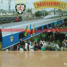 Postales: POSTAL FERROCARRIL FRANCIA CHATELLERAULT. Lote 222093157