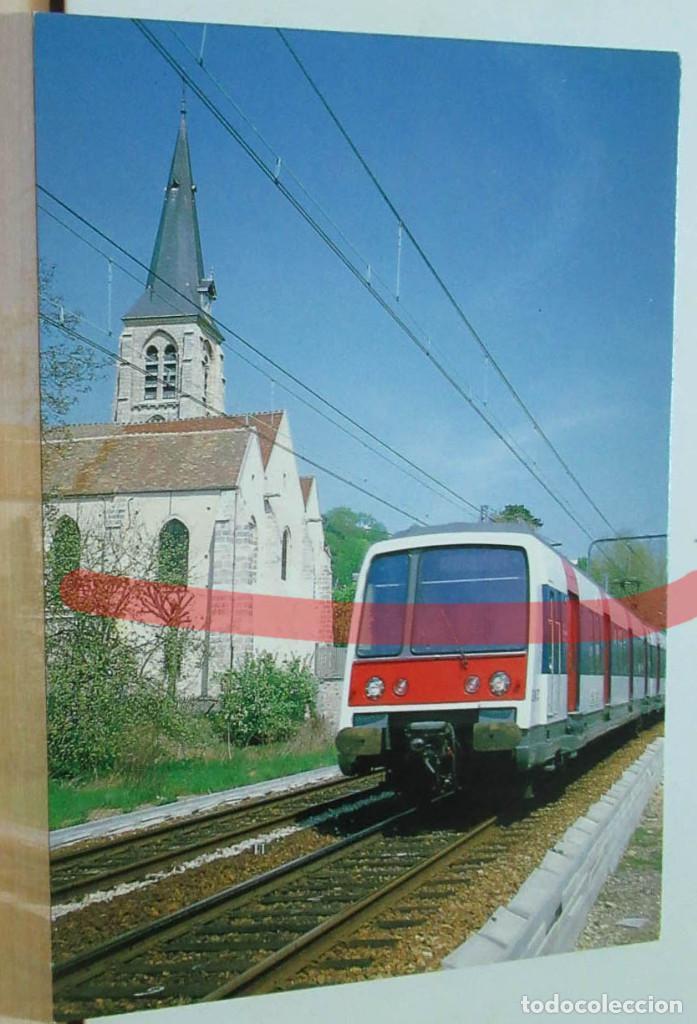 POSTAL FERROCARRIL FRANCIA PALAISEAU (Postales - Postales Temáticas - Trenes y Tranvías)