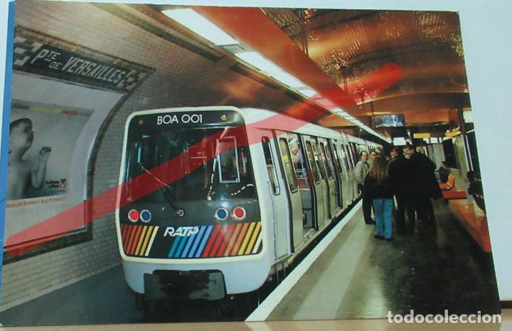 POSTAL FERROCARRIL FRANCIA PARIS LE METRO. (Postales - Postales Temáticas - Trenes y Tranvías)