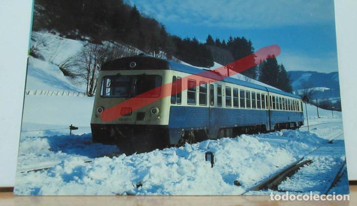 POSTAL FERROCARRIL ALEMANIA AUTOMOTOR (Postales - Postales Temáticas - Trenes y Tranvías)