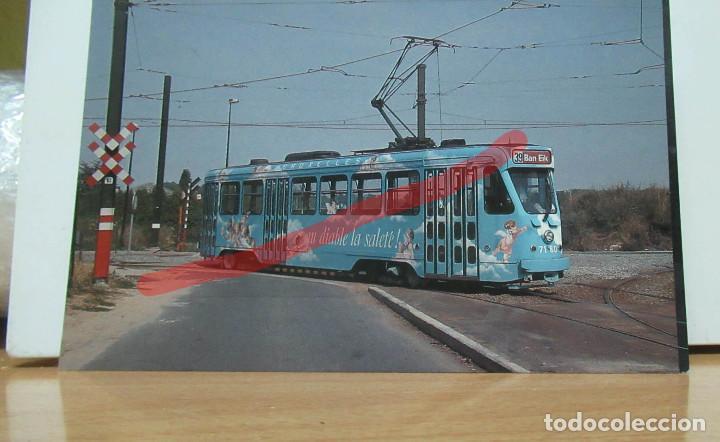 POSTAL FERROCARRIL BELGICA TRANVIA BRUSELAS. (Postales - Postales Temáticas - Trenes y Tranvías)