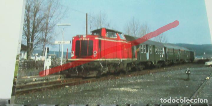 POSTAL FERROCARRIL ALEMANIA LOCOMOTORA 211 084 9 (Postales - Postales Temáticas - Trenes y Tranvías)