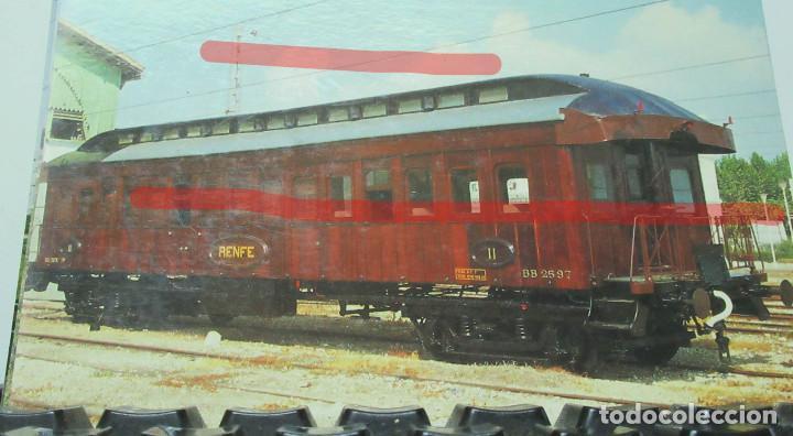 POSTAL FERROCARRIL RENFE VAGON BB 2 597 VILANOVA (Postales - Postales Temáticas - Trenes y Tranvías)