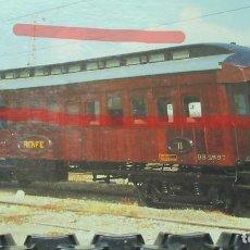 Postales: POSTAL FERROCARRIL RENFE VAGON BB 2 597 VILANOVA. Lote 222094328