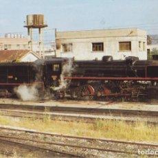 Postales: LOCOMOTORA DE VAPOR, SERIE 141/2101 EN PLA DE VILANOVETA 1978 - EUROFERS Nº674 - S/C. Lote 222831060