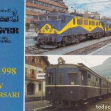 Postales: LOCOMOTORA ELECTRICA, RAPIDO DE ANDALUCIA, URDEÑA, 1980 - EUROFERS Nº602 - S/C. Lote 222833490