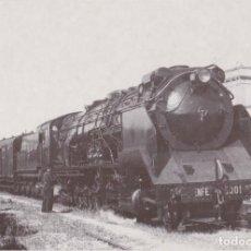 Postales: LOCOMOTORA VAPOR, RENFE 5001, VILANOVA I LA GELTRÚ - EUROFERS Nº4094 - S/C. Lote 222834088