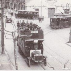 Postales: AUTOBUSES Y TRANVÍAS, ESPECIAL FUTBOL, PROVENZE-ARIBAU, 1922 - EUROFERS Nº4149 - S/C. Lote 222841550