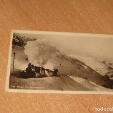 Postales: POSTAL DE NORGE FRA BERGENSBANEN. Lote 223783417