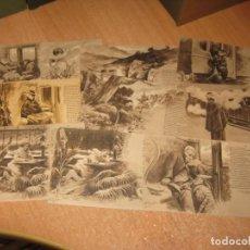 Postales: 15 POSTALES DE EL TREN EXPRESO. Lote 225977548