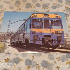 Postales: POSTAL RENFE, M7 UNIDAD ELÉCTRICA SERIE 440 (1983). Lote 227280470