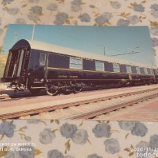 Postales: POSTAL RENFE, R3 COCHES CAMAS T2 (1984). Lote 227280705