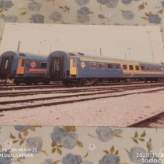 Postales: POSTAL RENFE, R5 COCHE SERIE 9.000 (1984). Lote 227280945