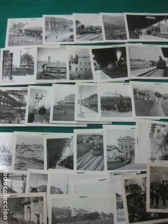 COLECCION COMPLETA ASAFER DE TRENES Y TRANVIAS. 30 POSTALES. (Postales - Postales Temáticas - Trenes y Tranvías)