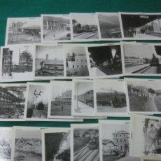 Postales: COLECCION COMPLETA ASAFER DE TRENES Y TRANVIAS. 30 POSTALES.. Lote 228125865