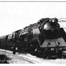 Postales: T - LOCOMOTORA DE VAPOR 151/3101 - RENFE 5001 EUROFER - AMICS DEL FERROCARRIL - FUTURGRAFIC Nº 4094. Lote 228548015