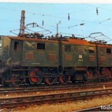 Postales: POSTAL - MAQUINA TREN - DER BAHNLADEN - 10275/79 - DB. ELECTRIC FREIGHT LOCOMOTIVE 191 011-5. Lote 228616925