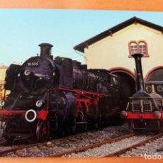 Postales: POSTAL - MAQUINA TREN - E 160/79 - DIE PFALZ, NACHBAU DER LOKOMOTIVE NR. 28 DER PFALZBAHN. Lote 228620815