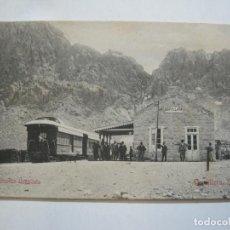 Postales: FERROCARRIL-ESTACION USPALLATA-CORDILLERA,CHILE-POSTAL ANTIGUA-(76.781). Lote 234558030