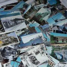 Postales: MAGNIFICO GRAN LOTE DE 270 ANTIGUAS POSTALES LOCOMOTORAS, TRANVÍAS, TRENES, BUSES. Lote 234917985