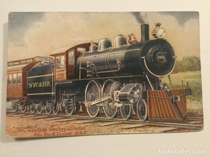 THE TWENTIETH CENTURY LIMITED - NEW YORK CENTRAL RAILWAY - USA - RAPHAEL TUCK & SONS OILETTE 9274 (Postales - Postales Temáticas - Trenes y Tranvías)