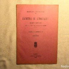 Postales: 1906 - TRANVÍAS DE MADRID - SUSTITUCIÓN MOTOR VAPOR POR CABLE. Lote 243901655