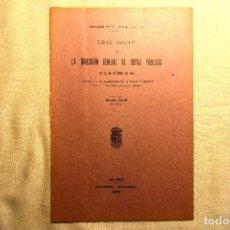 Postales: 1905 - TRANVÍA DEL ESTE, MADRID: SUSTITUCIÓN DE LA TRACCIÓN ANIMAL POR CABLE. Lote 243902160