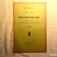 Postales: 1906 - MADRID - AUTORIZACIÓN DE UN TRANVÍA ELÉCTRICO ENTRE LA RONDA DE VALENCIA Y PUERTA DE TOLEDO. Lote 243903710