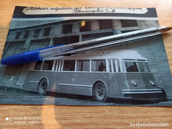 BA2. TETUÁN. FILOBUS TRANSPORTES HISPANO-MARROQUIES. COPIA (Postales - Postales Temáticas - Trenes y Tranvías)