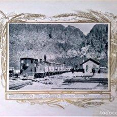"""Postales: """"EL TRASANDINO"""" FERROCARRIL ARGENTINO-CHILENO.. Lote 246447345"""