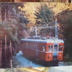 Postales: ANTIGUA POSTAL TRENES COLECCION RENFE SERIE TE 8. Lote 246491310