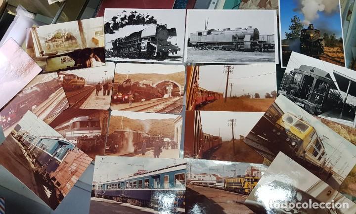Postales: LOTE POSTALES Y FOTOS TRENES TREN FERROCARRIL TARRASSA BARCELONA - Foto 3 - 246493960