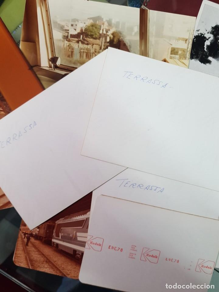 Postales: LOTE POSTALES Y FOTOS TRENES TREN FERROCARRIL TARRASSA BARCELONA - Foto 4 - 246493960