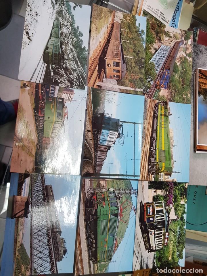 Postales: LOTE POSTALES Y FOTOS TRENES TREN FERROCARRIL TARRASSA BARCELONA - Foto 6 - 246493960