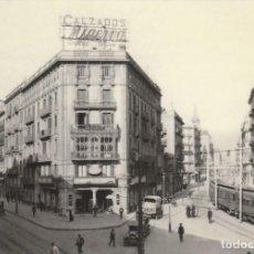 Postales: POSTAL - AUTOMOTOR ELECT BRILL CALLES BALMES / PELAYO BARNA 1920 -EUROFER AMICS FERROCARRIL FFCC CAT. Lote 253866820