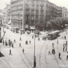 Postales: POSTAL - TRANVIAS / TRAMVIA DE BARCELONA PARALELO / S. ANTONIO EN 1922 -EUROFER AMICS FERROCARRIL. Lote 253871285