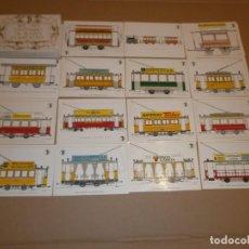 Postales: CENTENARIO DEL TRANVIA EN BARCEONA DE 1.872 - 1.972 - 56 POSTALES CONMEMORATIVAS. Lote 253899640
