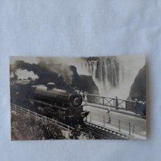 Postales: POSTALE, RHODESIA RAILWAYS TRAIN VICTORIA FALLS BRIDGE. Lote 254135040