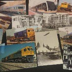 Postales: LOTE DE 24 POSTALES TEMA TENES Y TRANVIAS , PUEDE HABER REPETIDAS , LEER DESCRIPCION. Lote 254464035