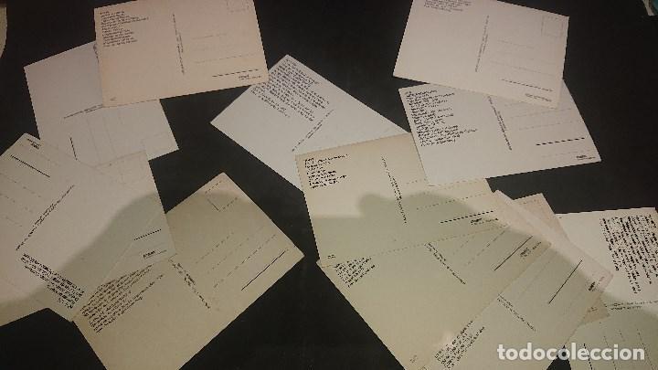 Postales: LOTE DE 24 POSTALES TEMA TENES Y TRANVIAS , PUEDE HABER REPETIDAS , LEER DESCRIPCION - Foto 2 - 254464035