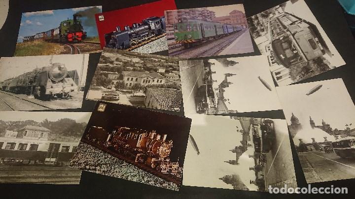 Postales: LOTE DE 24 POSTALES TEMA TENES Y TRANVIAS , PUEDE HABER REPETIDAS , LEER DESCRIPCION - Foto 3 - 254464035
