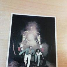 Postales: POSTAL TUNNEL OF LOVE FOTO MIKE JAKSON WIZARD & GENIUS IDEAL DECOR AG 5608 SUIZA LOCOMOTORA TÚNEL. Lote 254635400