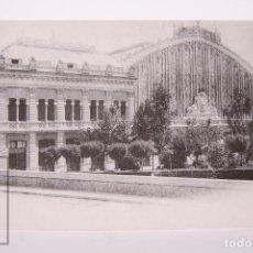 Postales: POSTAL EDITREN VAPOR EN NEGRO - Nº 33 - ESTACIÓN DE ATOCHA - AÑO 1912. Lote 254746185