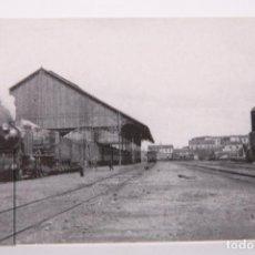 Postales: POSTAL EDITREN VAPOR EN NEGRO - Nº 49 - ESTACIÓN DE BURGOS - AÑO 1942. Lote 254746250