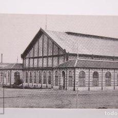 Postales: POSTAL EDITREN VAPOR EN NEGRO - Nº 93 - ESTACIÓN DE MADRID DELICIAS - AÑO 1881. Lote 254746280