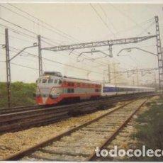 Postales: POSTAL DE TRENES Nº 603. TREN TALGO PENDULAR. LOCOMOTORA 352 P-TREN-2062. Lote 254911700