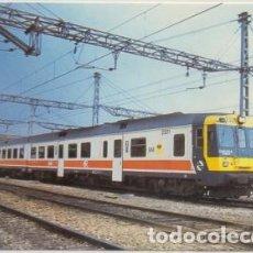Postales: POSTAL DE TRENES Nº 472. AUTOMOTOR 2301. REMODELADO POR MIRO REIG EN 1992 P-TREN-2064. Lote 254912065